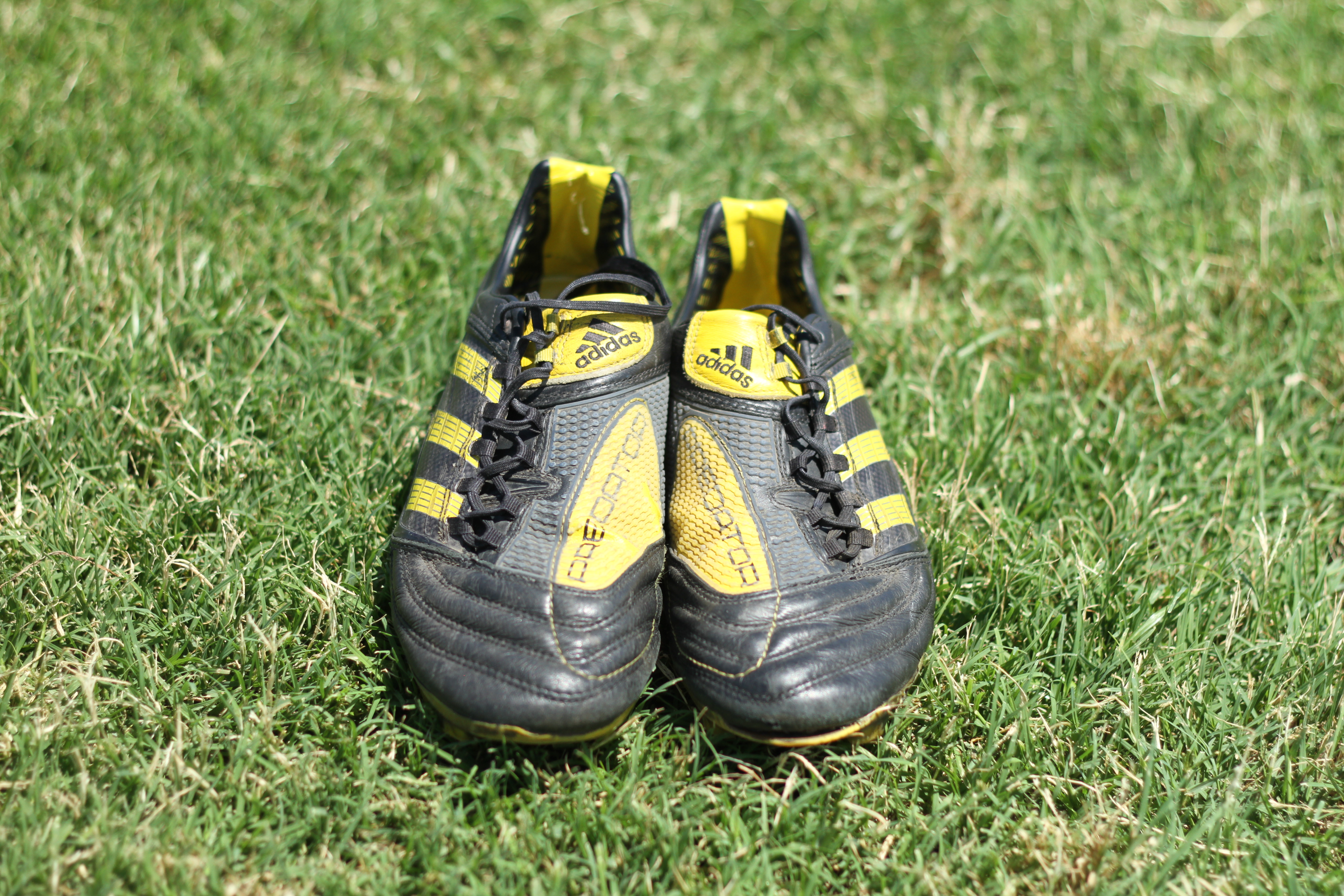 3a36f90b8 ... Black / Sun Yellow was used across all of adidas' football boots in  celebration of the 2012 world cup. Other boots in that summers line was the  adipure ...